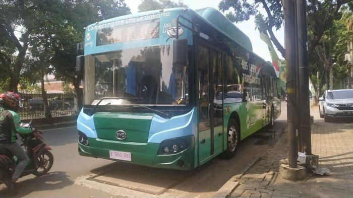 Bakrie Autoparts Pamerkan Bus Listrik yang Diujicoba Transjakarta