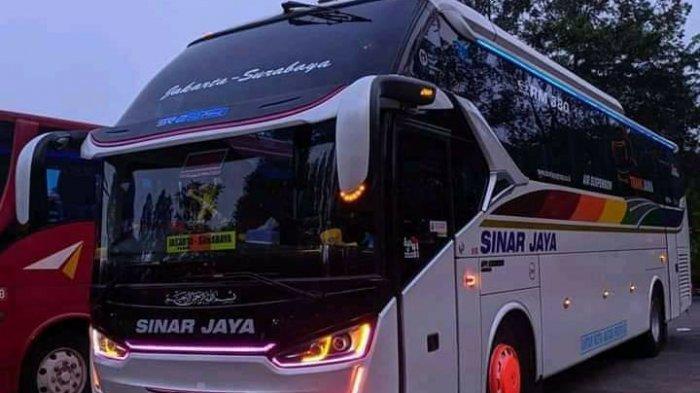 Hari Pertama Larangan Mudik, Bus Sinar Jaya Cuma Bawa 1 Penumpang dari Terminal Kalideres