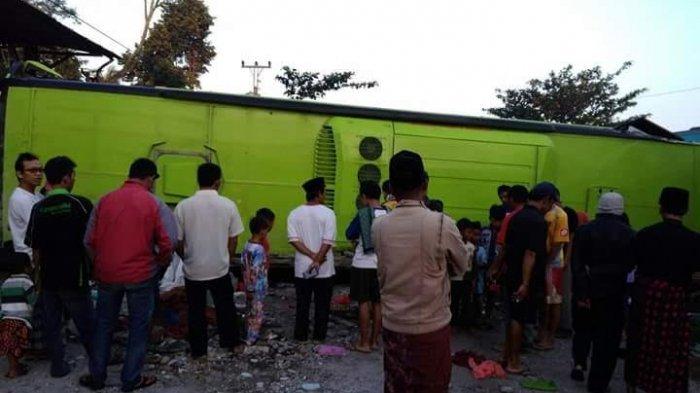 Bus Study Tour SMK di Sentul Terguling, Tiga Siswi Tewas