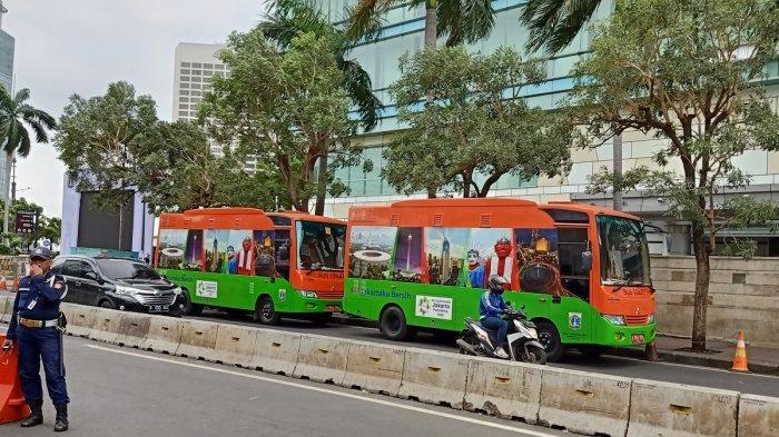 Pemprov DKI Jakarta Siapkan 33 Unit Bus Toilet untuk Perayaan Malam Tahun Baru 2020