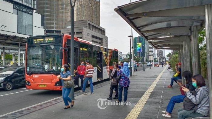 Jakarta PSBB Transisi, Bus Transjakarta Hanya Sampai Pukul 19.00, Bajaj Cuma Boleh Bawa 1 Penumpang