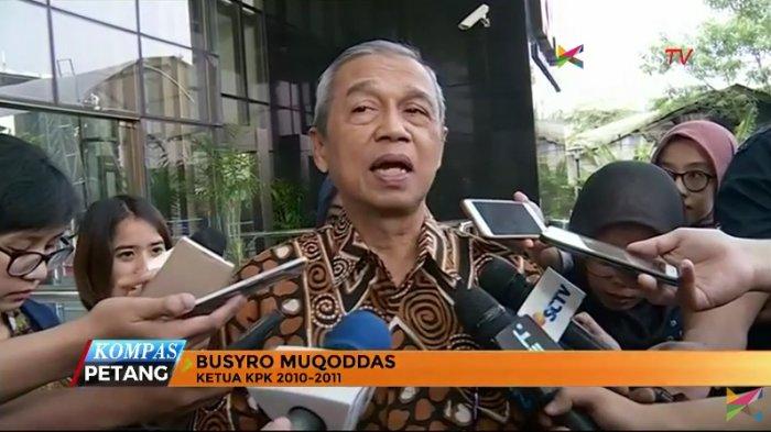 Busyro Muqoddas Ungkap Alasannya Bergabung Menjadi Tim Kuasa Hukum Bambang Trihatmodjo