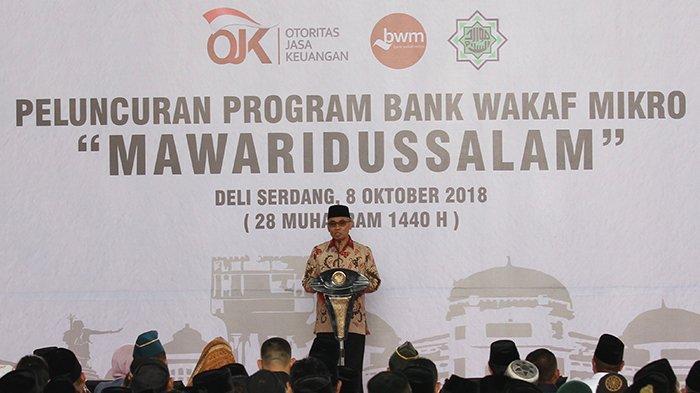 Dorong Perluasan Akses Keuangan, OJK Fasilitasi Pembentukan 41 Bank Wakaf Mikro