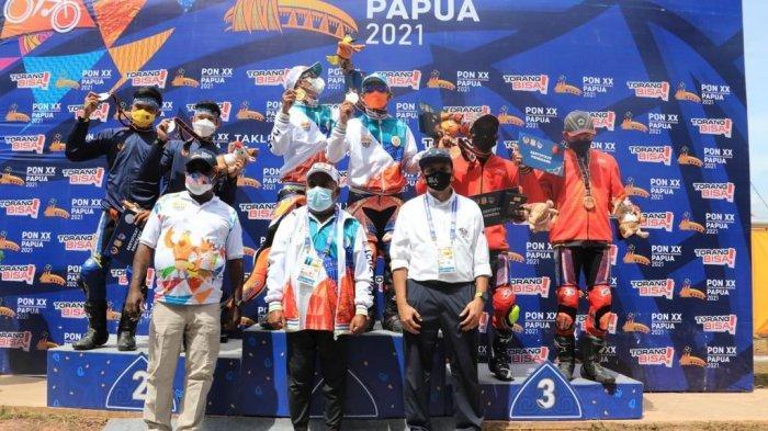 Cabor Balap Motor PON XX Papua Selesai, Bamsoet Ingatkan Atlet Terus Tingkatkan Kemampuan