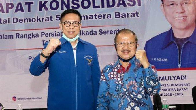 Demokrat Sebut Dukungan PDIP ke Mulyadi-Ali Mukhni Baru Sebatas Lisan