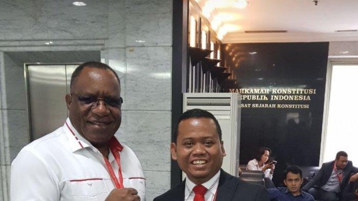 Kuasa Hukum Pemohon Cagub dan Cawagub Papua: Ada Kecurangan Sistematis