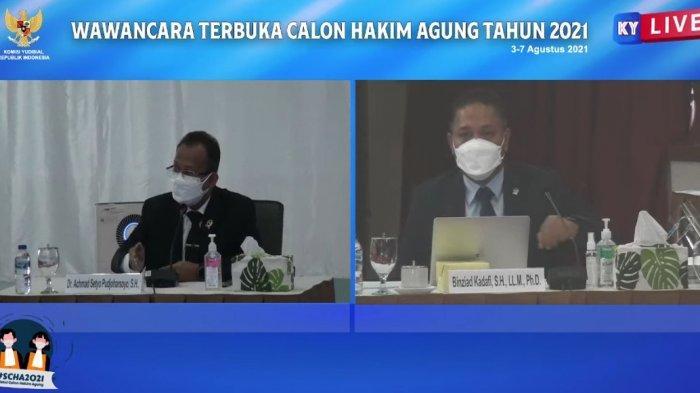 Calon Hakim Agung Achmad Setyo Cerita Perbedaan Jaminan Keamanan Hakim di AS dan Indonesia