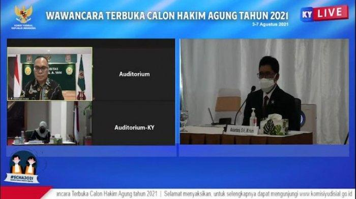 Saat Calon Hakim Agung Aviantara Ditanya soal Sunat Vonis Pinangki dan Djoko Tjandra