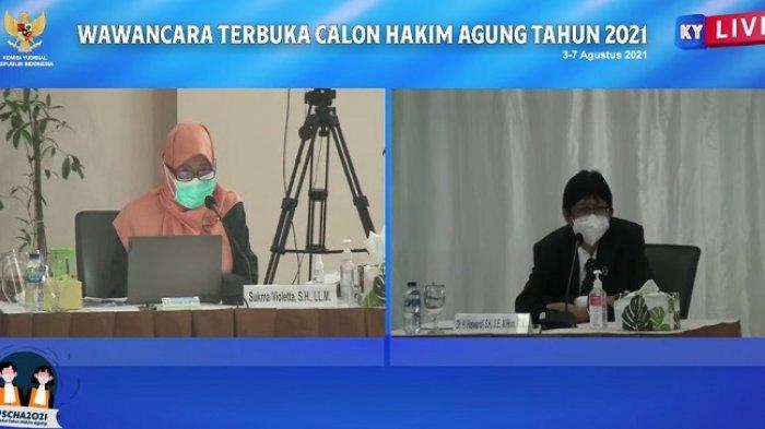 Calon Hakim Agung Haswandi Disinggung Soal Kiasan Pinokio Saat Jalani Wawancara Terbuka