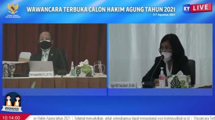 Calon Hakim Agung Brigjen Tama Ulinta Bicara Tentan Penemuan Hukum Soal LGBT di Lingkungan TNI