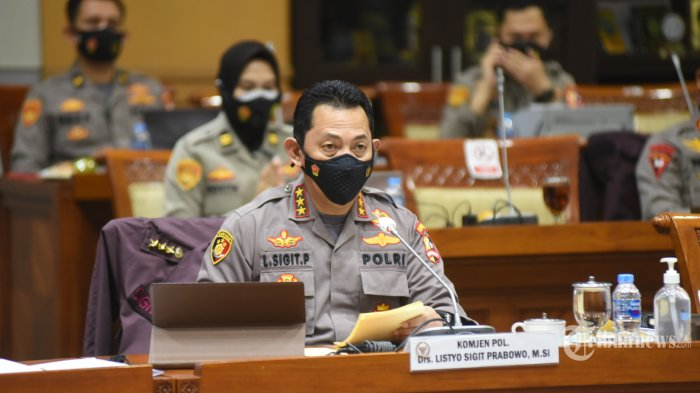 BREAKING NEWS: Komisi III DPR Restui Komjen Listyo Sigit Prabowo Jadi Kapolri