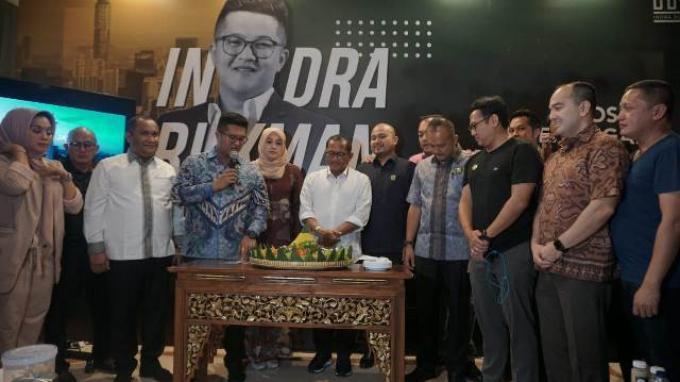 Resmikan Posko Pemenangan, Indra Rukman: Rumah untuk Keluarga HIPMI Jaya
