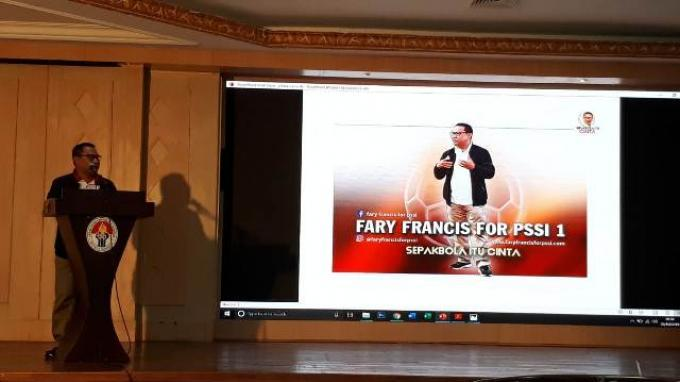 Caketum Fary Djemy Francis: Kita Tidak Ingin PSSI Seperti Sekarang Ini, Bobrok