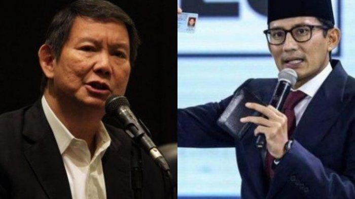 4 Nama dari Gerindra Diprediksi Jadi Calon Menteri Jokowi, Ada Sandiaga Uno dan Adik Prabowo?