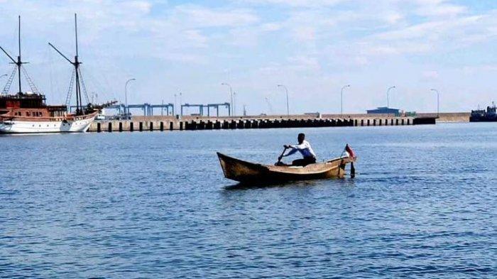 Kayuh Perahu 17 Km saat Seleksi, Pemuda 18 Tahun Ini Berhasil jadi TNI AL, Pertama di Kampungnya