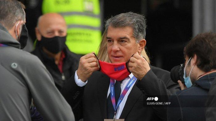 Gerak Cepat Presiden Baru Barcelona Joan Laporta, Legenda yang Dipecat Kini Jadi Pelatih Kiper