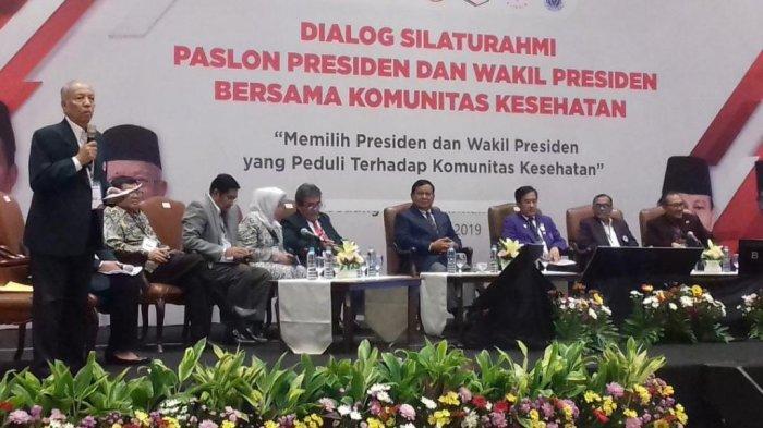 Prabowo Bandingkan Tugas Dokter dengan Anggota TNI