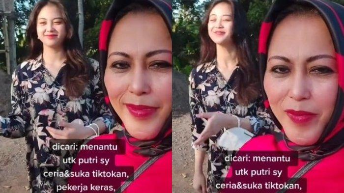 Cari Menantu, Ibu Ini Ingin Calon Suami sang Anak Suka Main TikTok dan Ceria: Lucu-lucuan Saja