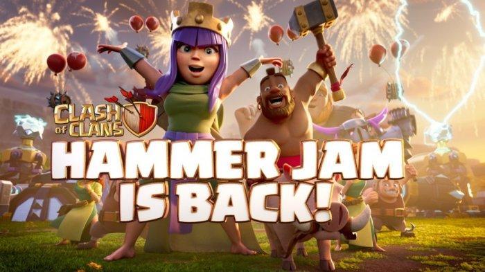 Campaign Hammer Jam dari Clash of Clans Hadir Kembali