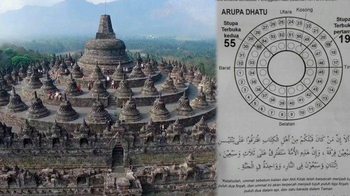 Fahmi Basya Sebut Candi Borobudur Peninggalan Nabi Sulaiman, Begini Tanggapan Akademisi