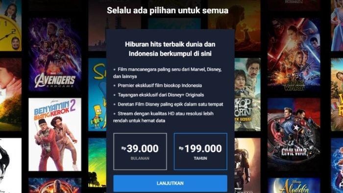 Cara Mendaftar Dan Berlangganan Disney Hotstar Berikut Harga Paket Dan Metode Pembayarannya Tribunnews Com Mobile