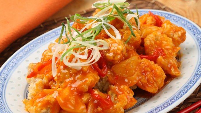 Cara Bikin Ayam Asam Manis Super Enak ala Chinese Food, Pemula Pun Bisa Kalau Tahu Bumbu Rahasianya