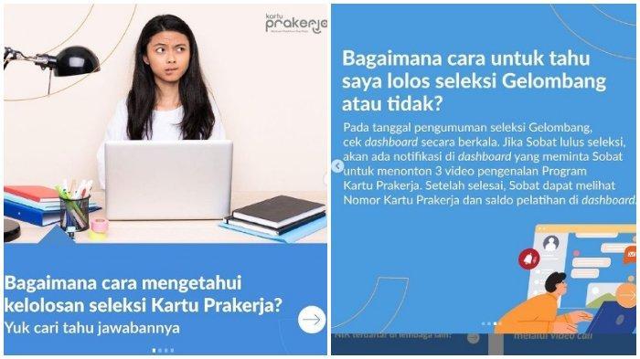 LOGIN www.prakerja.go.id, Cek Hasil Seleksi Kartu Prakerja Gelombang 20, Simak Caranya