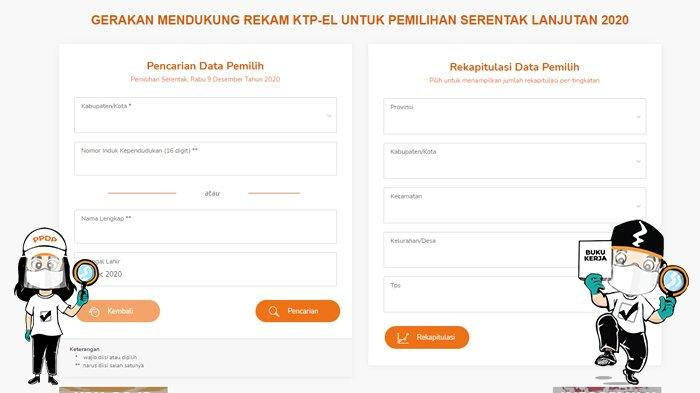 Pilkada Serentak 2020 Cara Cek Jumlah Pemilih Di Tps Saat Mencoblos Di Tengah Pandemi Covid 19 Tribunnews Com Mobile