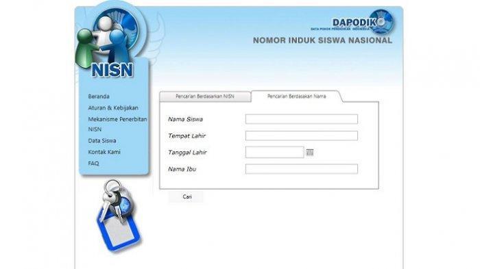 Cara Mengecek NPSN dan NISN untuk Daftar SNMPTN 2020, - Halaman 3 - Tribunnews.com