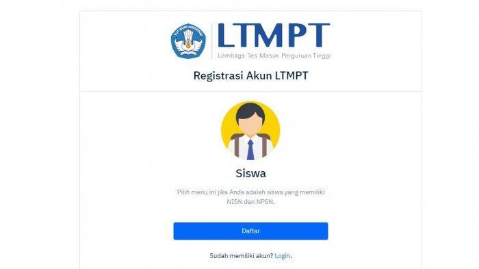 Cara Daftar LTMPT.
