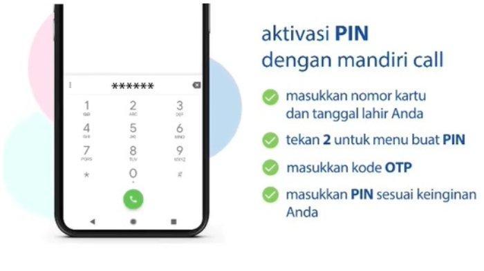 Cara Dapatkan PIN Kartu Kredit Bank Mandiri.