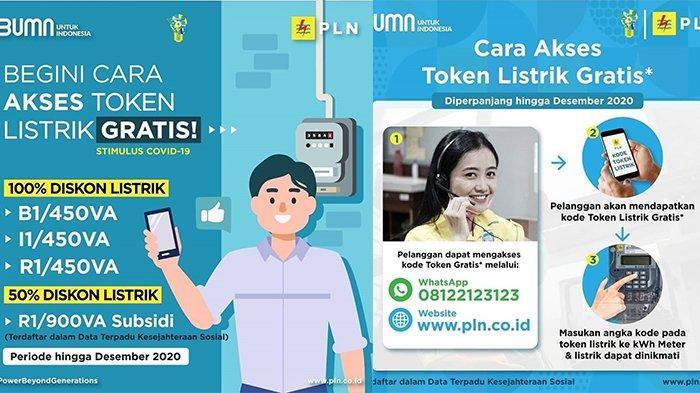 Cara Akses Token Listrik Gratis PLN Januari  2021, Login www.pln.co.id atau WhatsApp