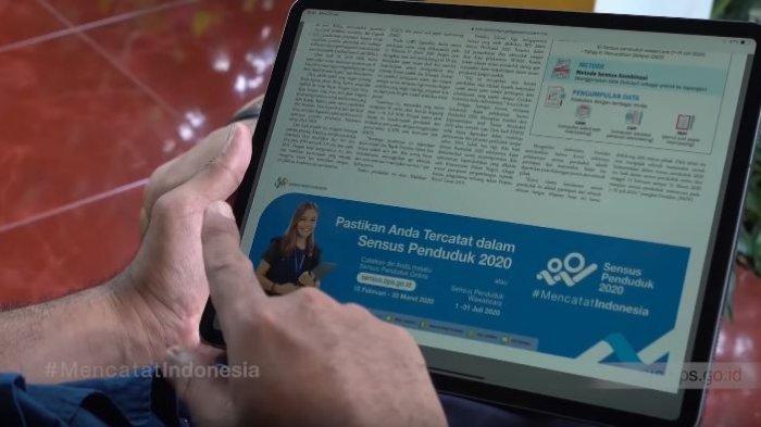 Cara Isi Data Sensus Penduduk Online 2020 di sensus.bps.go.id, Siapkan KK, KTP hingga Buku Nikah.