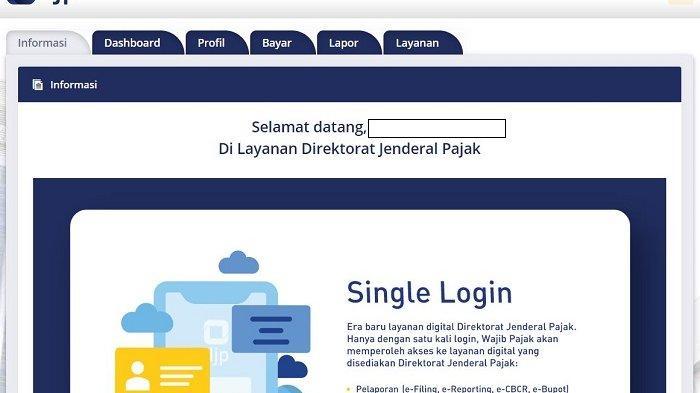 Segera Login djponline.pajak.go.id untuk Lapor SPT Tahunan Secara Online, Ini Cara Mendapatkan EFIN