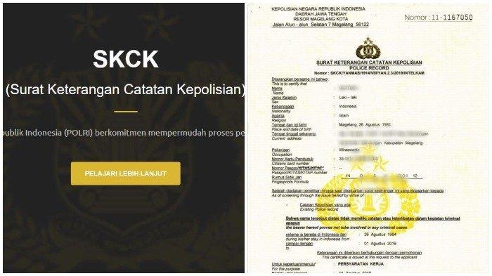 Syarat dan Cara Membuat SKCK Online untuk Dokumen Pemberkasan CPNS 2019 di skck.polri.go.id