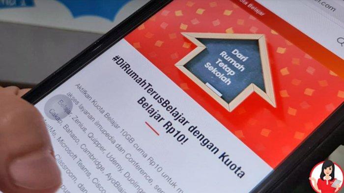 Paket Kuota Belajar Telkomsel 10gb Rp 10 Berlaku Hingga 31 Desember 2020 Berikut Cara Aktivasinya Halaman All Tribunnews Com Mobile