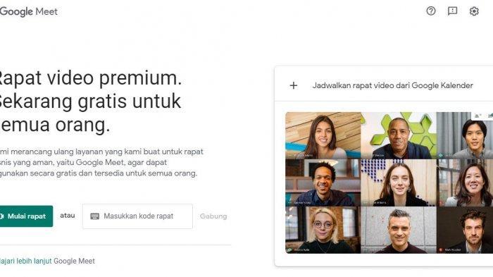 Cara Mudah Menggunakan Google Meet di Laptop maupun Smartphone