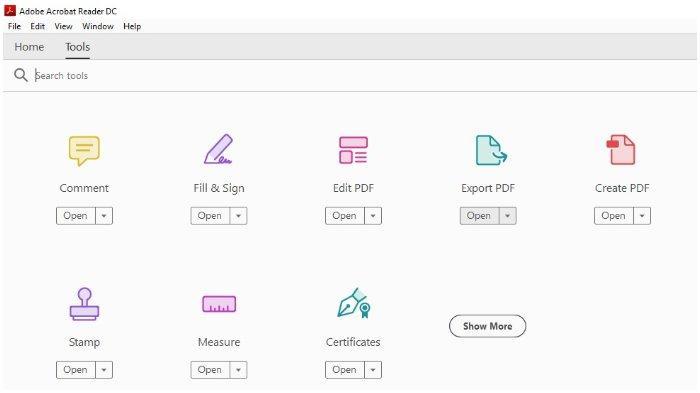Cara Mengubah File PDF ke Word di Aplikasi Adobe Acrobat DC.