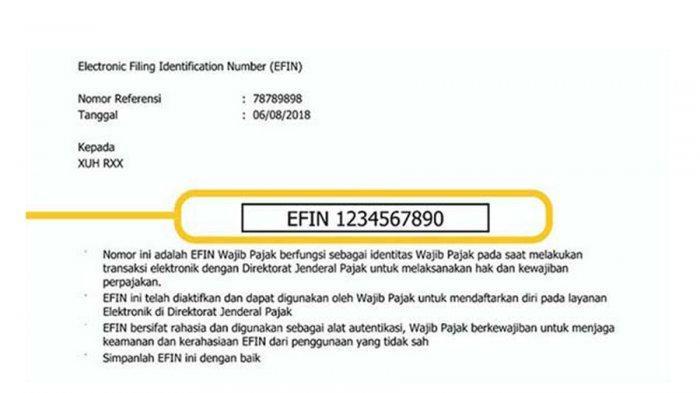 Cara Mudah Dapatkan EFIN via Online untuk Daftar Akun di djponline.pajak.go.id