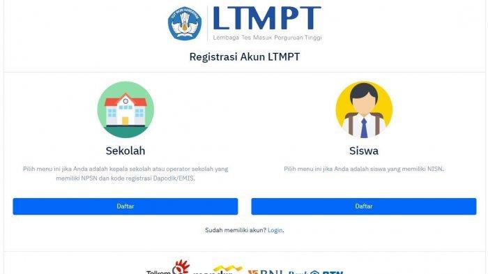 10 Tahapan Pendaftaran SNMPTN 2020 di Portal LTMPT, Berikut Persyaratan dan Jadwal Pentingnya