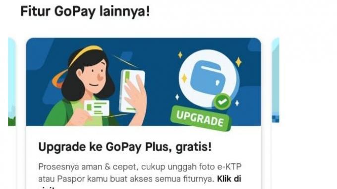 Cara Upgrade GoPay Plus untuk Bisa Transfer ke Rekening Bank hingga Tarik Tunai Saldo di ATM BCA