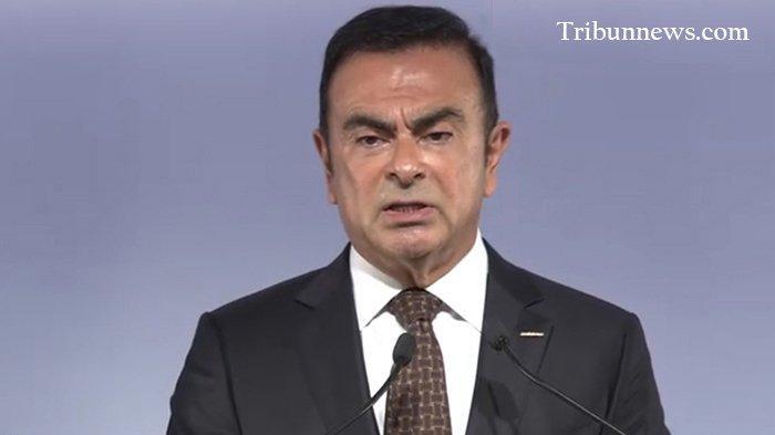 Carlos Ghosn (65), mantan Chairman Nissan Jepang.