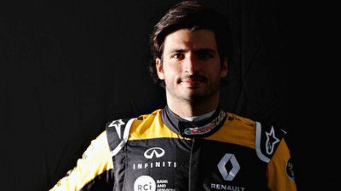 Carlos Sainz Masuk Daftar Calon Pengganti Sebastian Vettel di Tim Ferarri