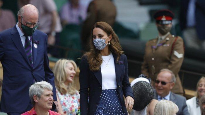 Kontak Dekat Pasien Covid-19, Kate Middleton Terpaksa Dibawa Keluar saat Saksikan Pertandingan Tenis