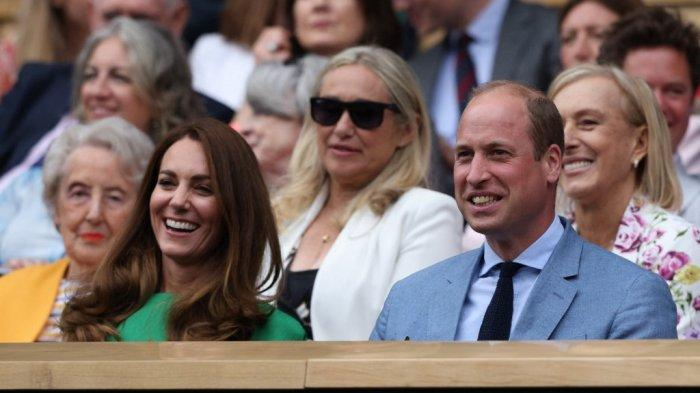 Kate Middleton Akhiri Isolasi Mandiri dengan Menonton Pertandingan Tenis bersama Pangeran William