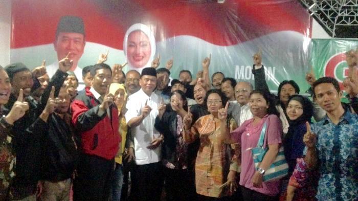 Relawan Pakde Karwo-Gus Ipul Bersatu Menangkan Rasiyo-Lucy di Pilkada Surabaya