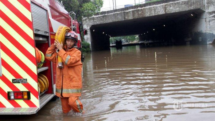 Update Banjir Jakarta, Tinggi Muka Air Kamis 2 Januari 2020 Pukul 08.00 WIB, Waduk Pluit Siaga 2