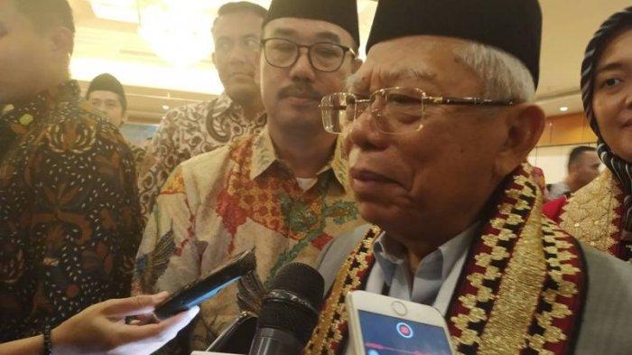 Respons Ma'ruf Amin soal Muhammadiyah Minta Pengesahan RUU Pesantren Ditunda