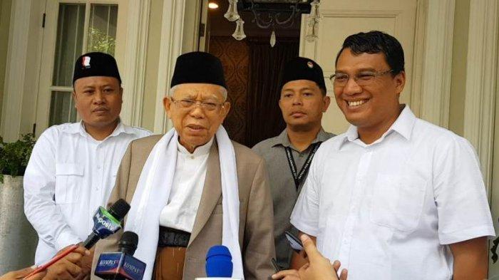 Ma'ruf Amin Dorong Undang-Undang Pesantren Secepatnya Disahkan
