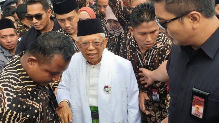 Respons Surat SBY, Ma'ruf Amin Anggap Kubu Prabowo-Sandiaga Tidak Solid